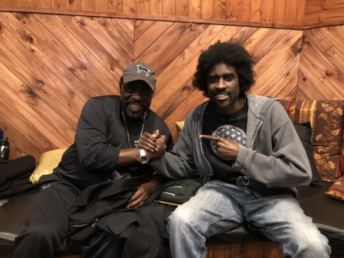 Eddie Levert and Rasar of the Lique