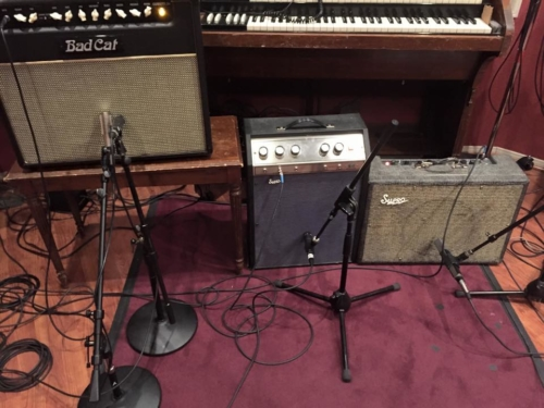 Session amps